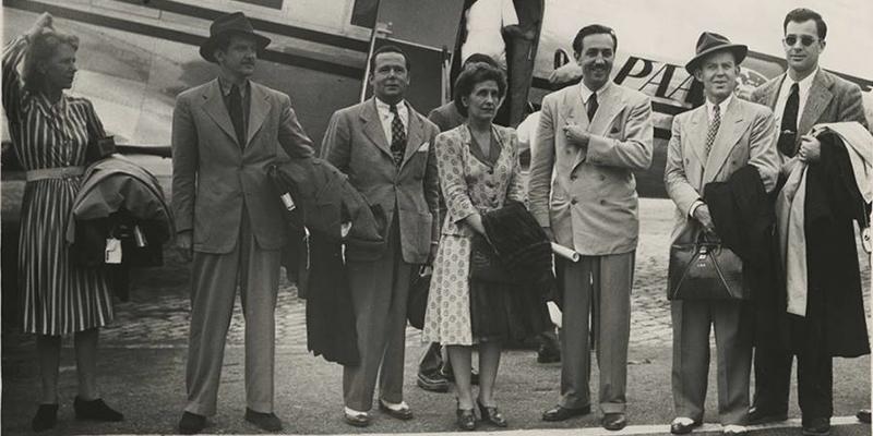 Visita del grupo Disney a Guatemala en 1941
