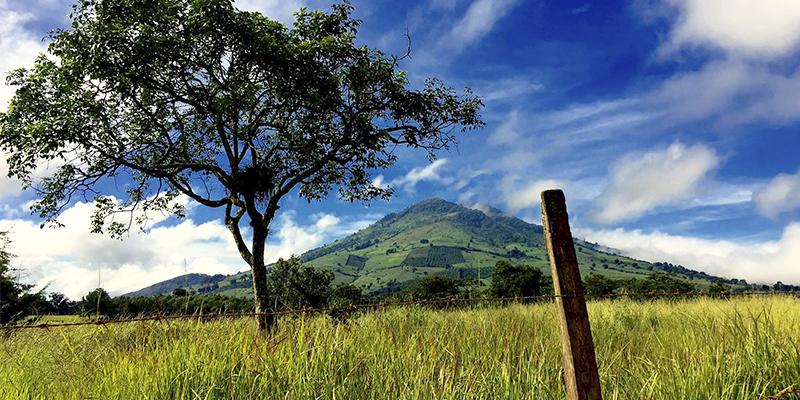 Volcán Jumay en Jalapa, Guatemala