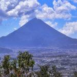 Volcán Zunil en Guatemala