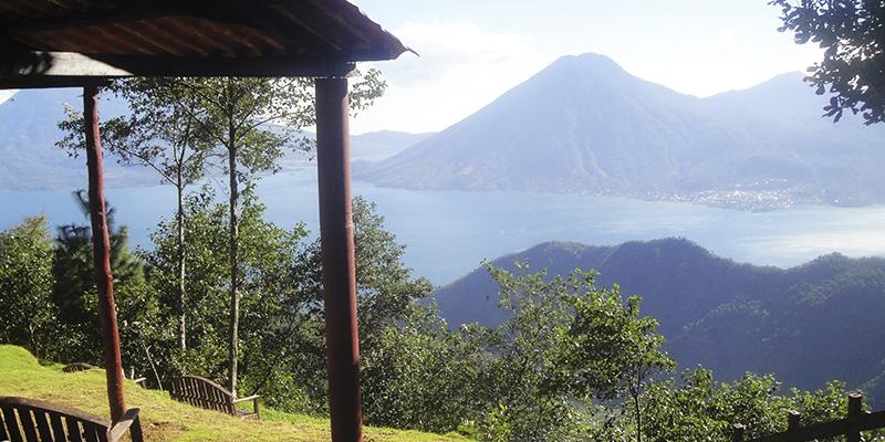 Mirador Ixchel en Santa Lucía Utatlán, Sololá