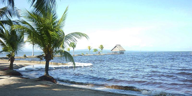 Bahía de Amatique en Izabal