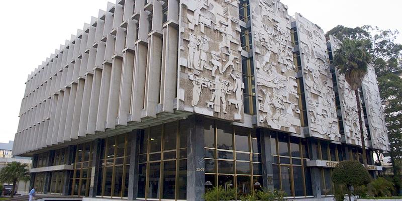 Murales del Crédito Hipotecario Nacional de Guatemala