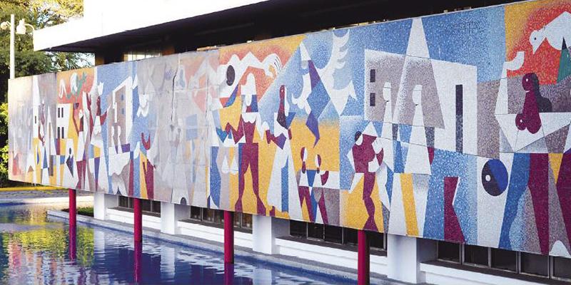 Murales del Instituto Guatemalteco de Seguridad Social