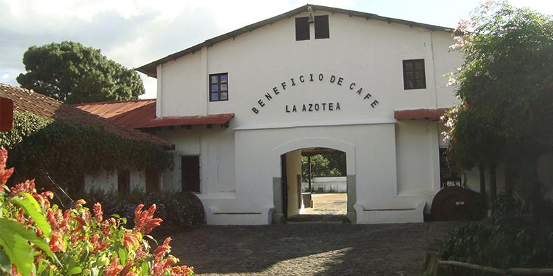 Museo del Café La Azotea en Sacatepéquez
