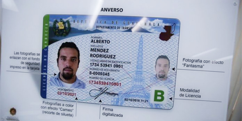 ¿Cómo es la nueva Licencia de Conducir de Guatemala?
