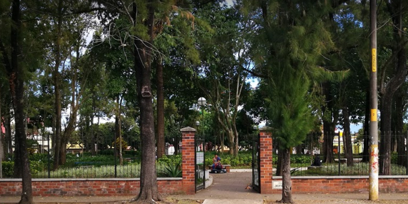 Historia del Parque Jocotenango en Guatemala