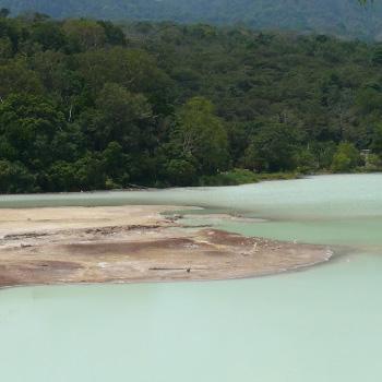 Laguna de Ixpaco en Santa Rosa
