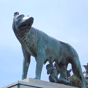 Monumento de la Loba en Guatemala