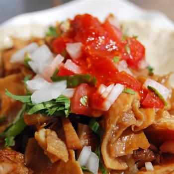 Receta de tortillas con buche guatemalteco
