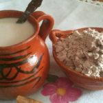 Receta para hacer atol de pinol guatemalteco