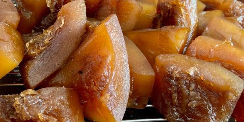 Receta para preparar chilacayote en miel guatemalteco