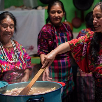 Sak'por, platillo ceremonial de Chichicastenango 1