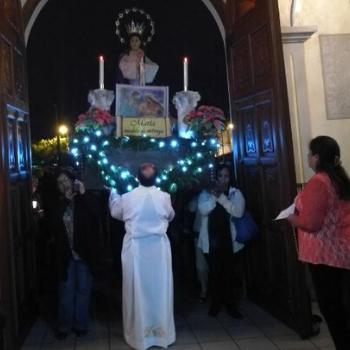 imagen de la Virgen de Concepción de Demanda
