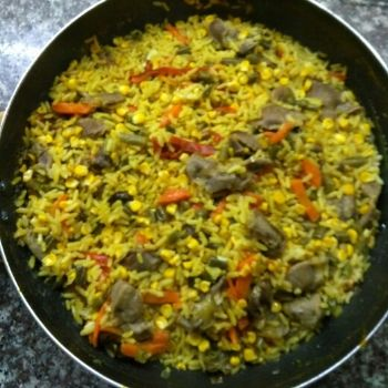arroz con mollejas guatemala
