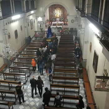 interior iglesia ciudad vieja