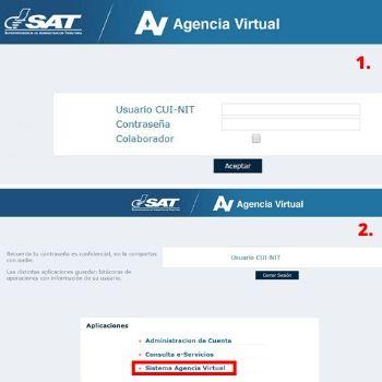 solvencia fiscal agencia virtual
