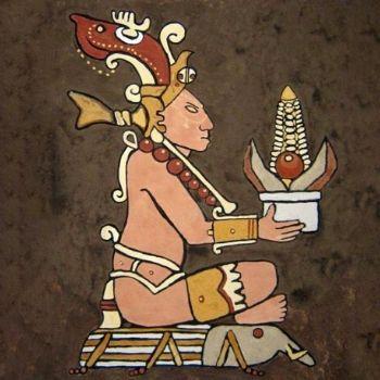 tamales mayas dios del maíz