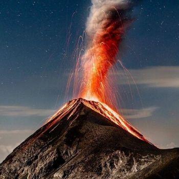 volcanes antigua guatemala fuego