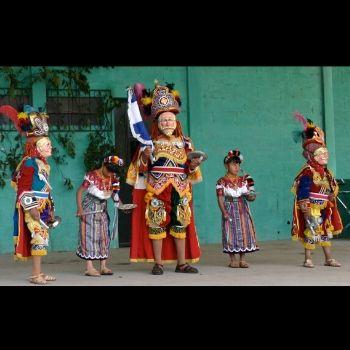 baile de la conquista corte real k'iche'