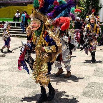 baile de la conquista mayas