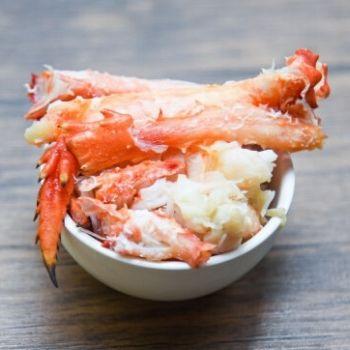 carne de cangrejos rellenos