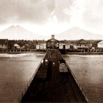 estación de tren en escuintla puerto de san josé