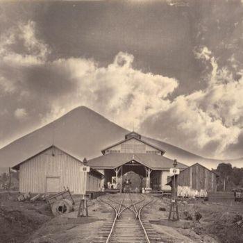 estación de tren en escuintla