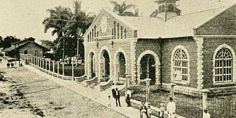 La primera estación de tren en Guatemala se construyó en Escuintla