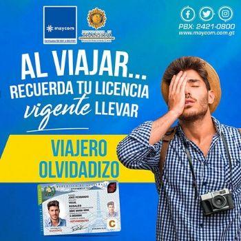 licencia de conducir vigencia