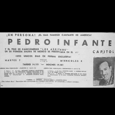 pedro infante en guatemala boletos capitol
