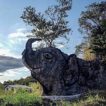 piedra del elefante en nenton huehuetenango