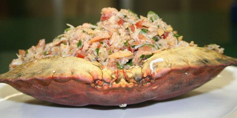 receta cangrejos rellenos escuintla