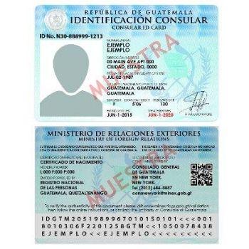 tarjeta de identificación consular guatemalteca