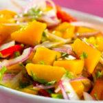 Receta del ceviche de mango al estilo guatemalteco