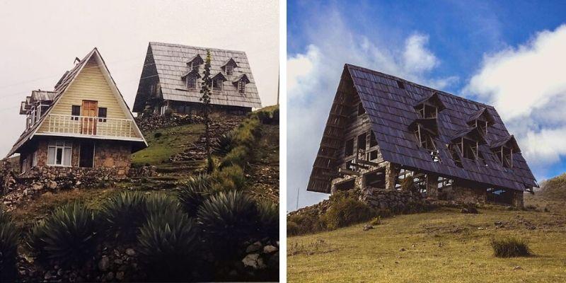 Cabañas del Mirador Juan Diéguez Olaverri en Los Cuchumatanes, Huehuetenango