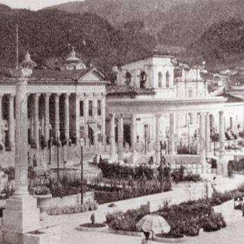 palacio municipal de quetzaltenango frontispicio