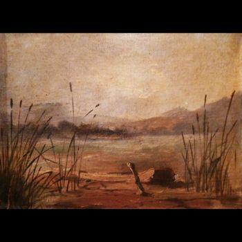 biografia-agustin-iriarte-castro-pintor-guatemalteco-lago-amatitlan-pintura