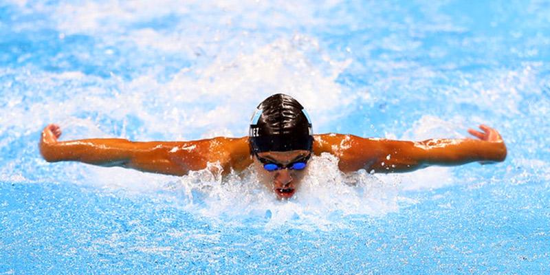 Biografía de Luis Martínez, nadador guatemalteco