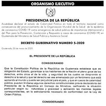 estado-calamidad-publica-guatemala-ley-orden-decreto-gubernativo