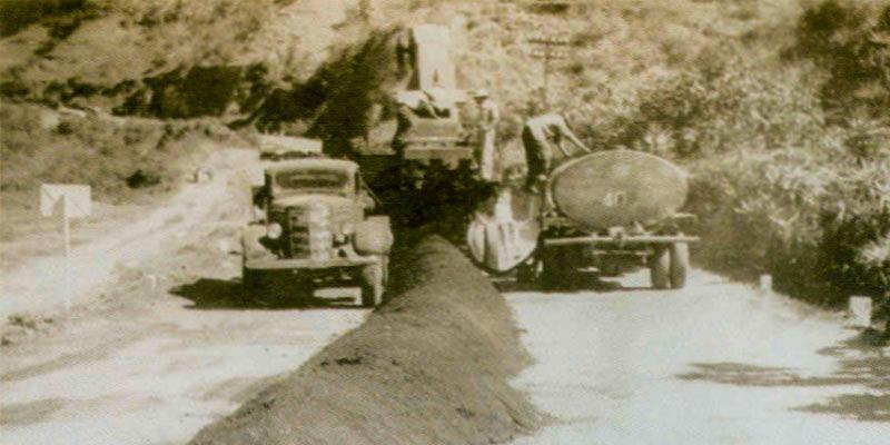 Historia de la obra vial en Guatemala