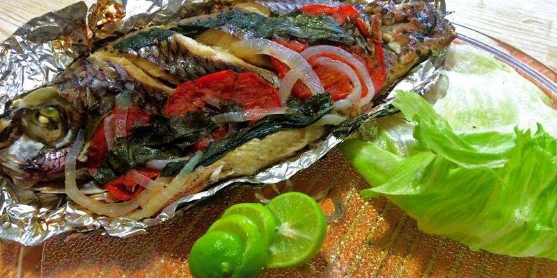 Receta para cocinar mojarras horneadas al estilo guatemalteco