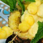 Receta del helado de piña colada al estilo guatemalteco