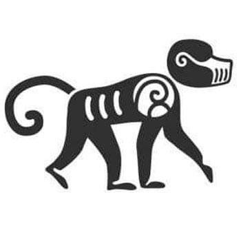 signos-zodiacales-mayas-guatemala-mono-orangutan