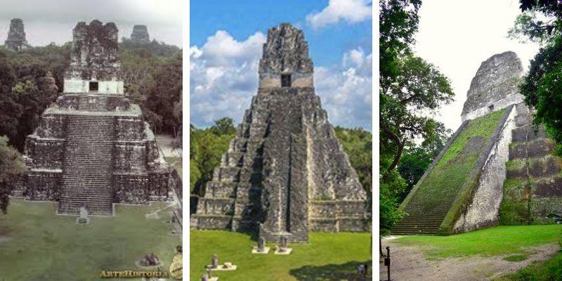 Templos de Tikal en Petén, Guatemala