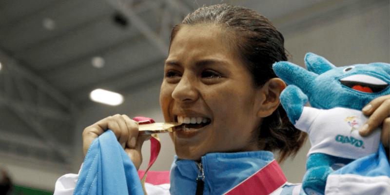 Biografía de María Castellanos, karateca guatemalteca