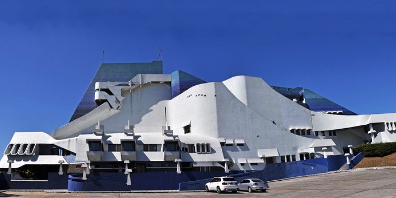 Instalaciones del Centro Cultural Miguel Ángel Asturias en Guatemala