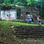Piedras Negras en Petén, Guatemala