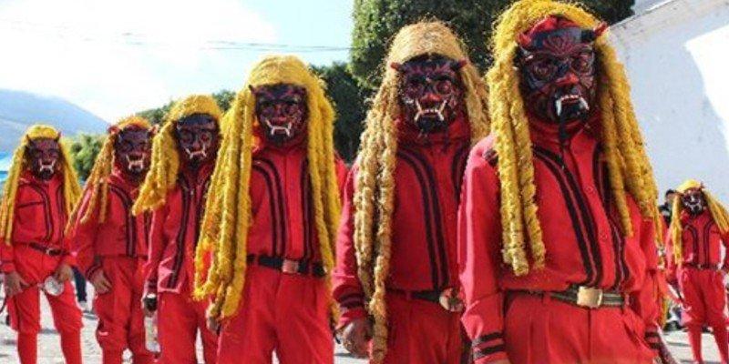 El baile de los 24 diablos, Guatemala