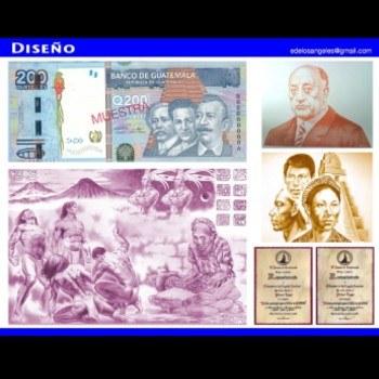biografia-elizandro-de-los-angeles-ramirez-artista-guatemalteco-diseño-billetes