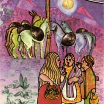 leyenda-lagrimas-sombreron-guatemala-celso-lara-mulas-mujeres-piletas